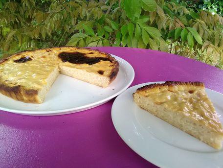 RECIPE MAIN IMAGE Tarte au riz au lait à la vanille