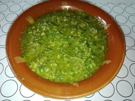 RECIPE MAIN IMAGE Ssauce pesto