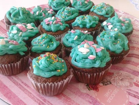 RECIPE MAIN IMAGE Cupcake aux chocolat noir