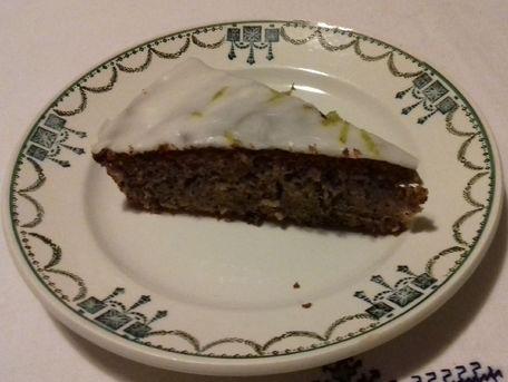 RECIPE MAIN IMAGE Gâteau courgettes/citrons aux épices