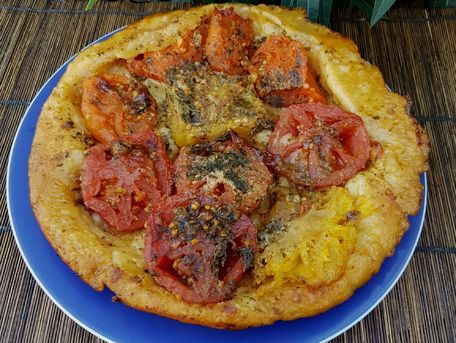 RECIPE MAIN IMAGE Tatin de tomates 3 couleurs