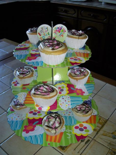 RECIPE MAIN IMAGE Cupcakes colorés