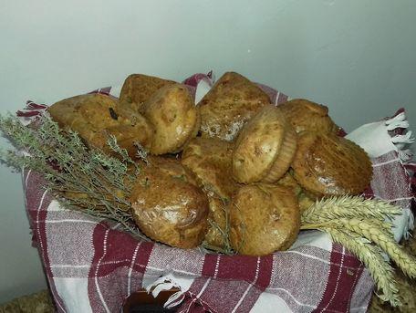 RECIPE MAIN IMAGE Muffins et petits cakes salés au chorizo et chèvre