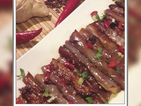 RECIPE MAIN IMAGE Aubergines caramélisées à la chinoise