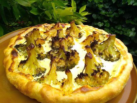 RECIPE MAIN IMAGE Tarte au fromage et brocolis