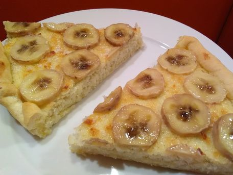 RECIPE MAIN IMAGE Tarte banane et coco