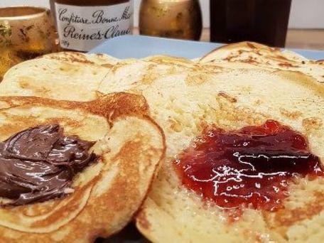 RECIPE MAIN IMAGE Pancakes du dimanche du p'tit cuistot