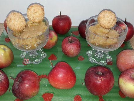 RECIPE MAIN IMAGE Compote de pommes du jardin  à la cannelle