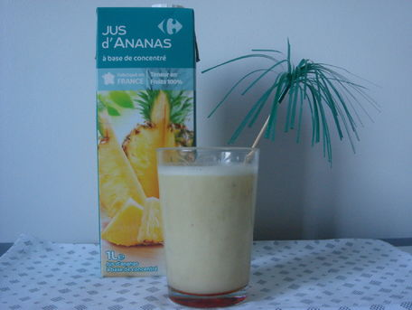 RECIPE MAIN IMAGE Smoothie des îles