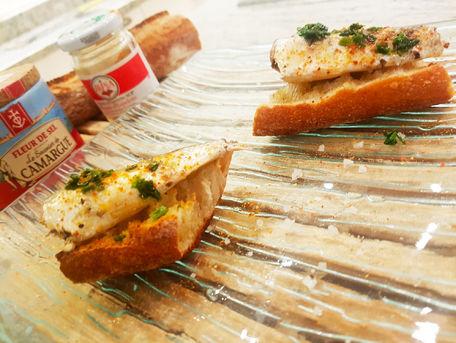 RECIPE MAIN IMAGE Tartines de sardines