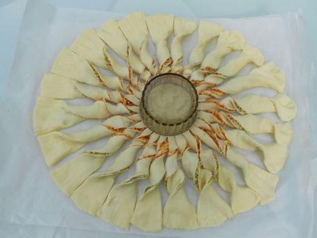 ADVICE MAIN IMAGE Des rayons réguliers sur une tarte-soleil