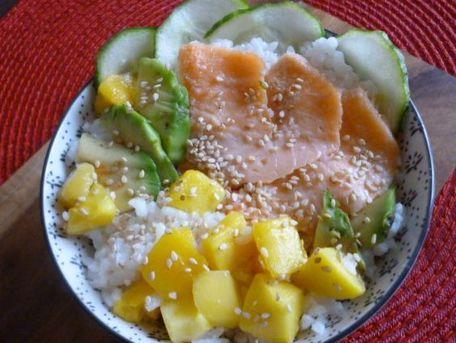 RECIPE MAIN IMAGE Salade-bol de riz parfumé