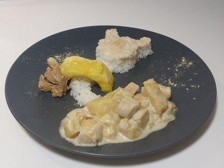 RECIPE MAIN IMAGE Poulet ananas coco