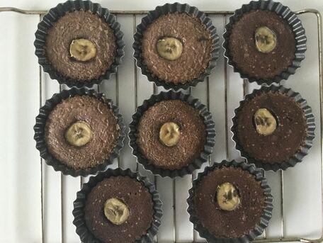 RECIPE MAIN IMAGE Tartelettes au chocolat