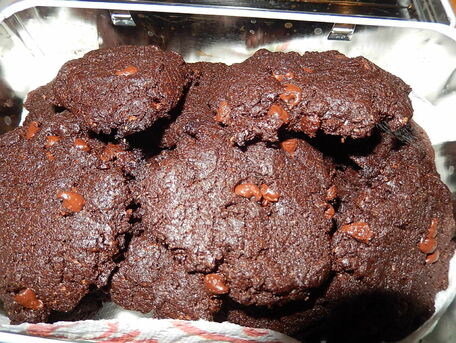 RECIPE MAIN IMAGE Cookies 100 chocolat