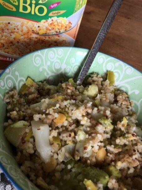 RECIPE MAIN IMAGE 5 céréales bio aux légumes de saison