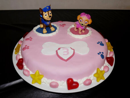 RECIPE MAIN IMAGE Gâteau d'anniversaire Pat'Patrouille