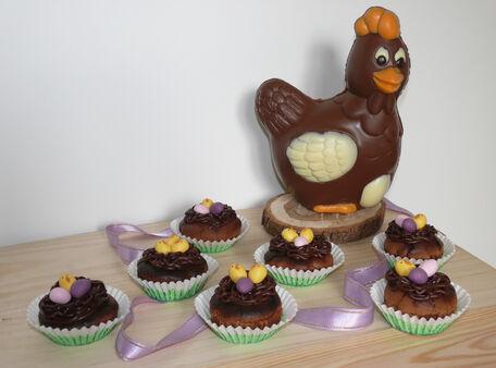 RECIPE MAIN IMAGE Petits nids de Pâques tout chocolat