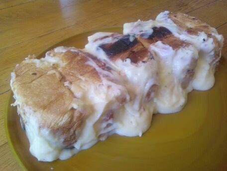 RECIPE MAIN IMAGE Gâteau de croissants rassis