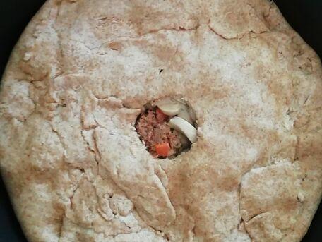 RECIPE MAIN IMAGE Tourte au canard et aux champignons