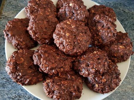 RECIPE MAIN IMAGE Cookies au muesli et à la compote