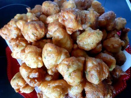 RECIPE MAIN IMAGE Beignets de poulet à la coriandre zéro déchet