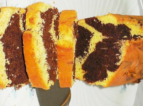 RECIPE MAIN IMAGE Gâteau marbré