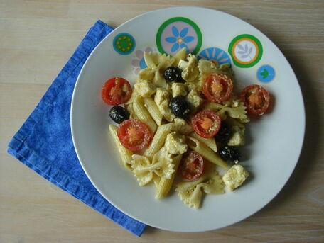 RECIPE MAIN IMAGE Salade de pâtes à l\'italienne
