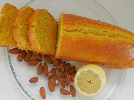 RECIPE MAIN IMAGE Cake aux amandes et au citron sans gluten
