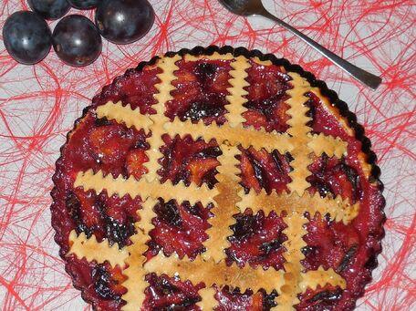 RECIPE MAIN IMAGE Tarte aux prunes
