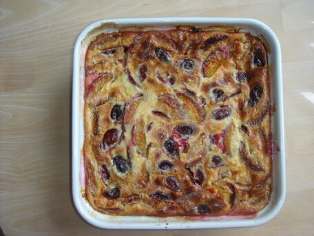 RECIPE MAIN IMAGE Clafouti d'automne aux quetsches