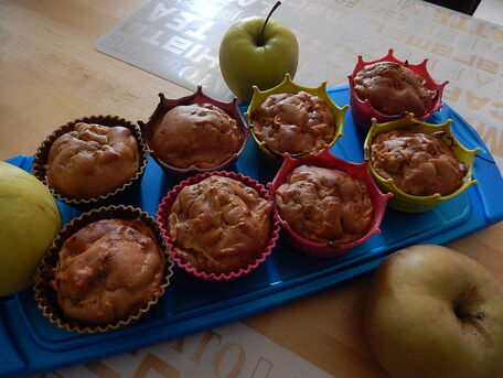 RECIPE MAIN IMAGE Muffins pommes/cannelle