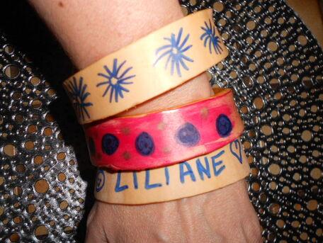 ADVICE MAIN IMAGE D I Y  :  De magnifiques bracelets à moindre coût !!!