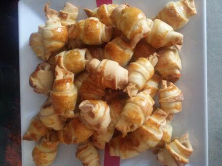 RECIPE MAIN IMAGE Petits croissants des mers