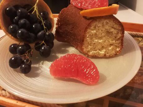 RECIPE MAIN IMAGE Gâteau au pamplemousse