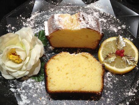 RECIPE MAIN IMAGE Cake au citron