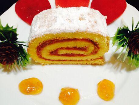 RECIPE MAIN IMAGE Gâteau roulé à la confiture