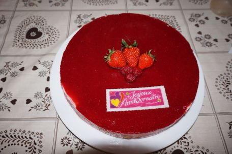 RECIPE MAIN IMAGE Bavarois aux fraises