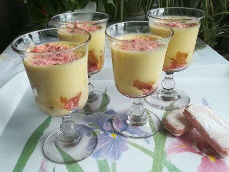 RECIPE MAIN IMAGE Tiramisu à l'ananas caramélisé