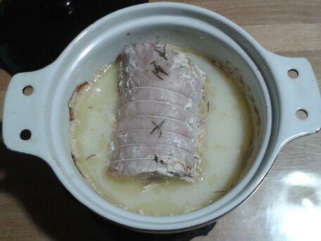 RECIPE MAIN IMAGE Rôti de porc cuit au lait