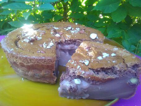 RECIPE MAIN IMAGE Gâteau magique noisettes et Nutella