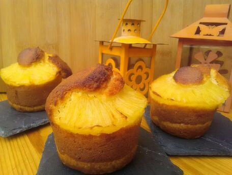RECIPE MAIN IMAGE Muffins moelleux ananas noix de coco