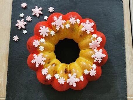 RECIPE MAIN IMAGE Gâteau fleur