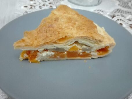 RECIPE MAIN IMAGE Tourte butternut gourmande