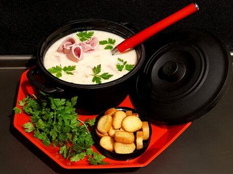 RECIPE MAIN IMAGE Marmite de boulgour jambon et Vache Qui Rit