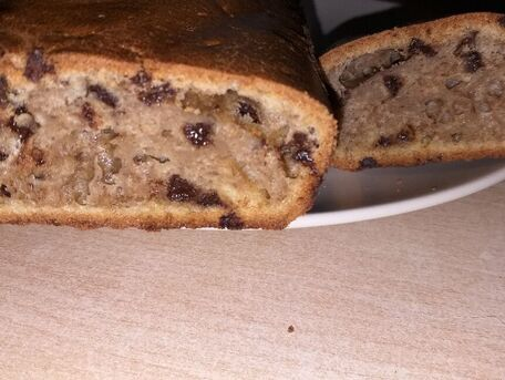 RECIPE MAIN IMAGE Gâteau au chocolat à la peau de bananes