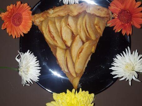 RECIPE MAIN IMAGE Tarte amoureuse aux pommes