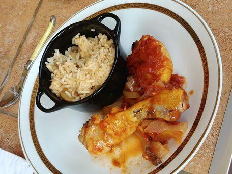 RECIPE MAIN IMAGE Cuisses de poulet à la sauce barbecue