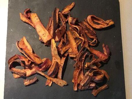 RECIPE MAIN IMAGE Chips de carottes