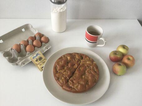 RECIPE MAIN IMAGE Gâteau facile aux pommes bio